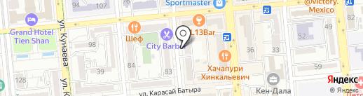 Real Viva Серкан Гидер на карте Алматы