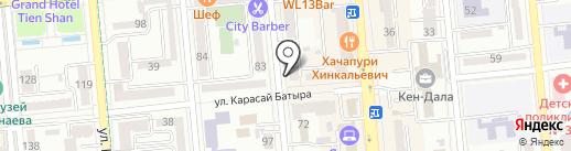 ZufA beauty lab на карте Алматы