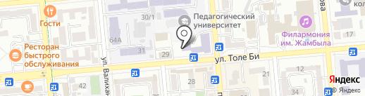 Государственная детская библиотека им. С. Бегалина на карте Алматы