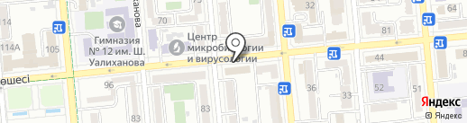 RW Holding на карте Алматы