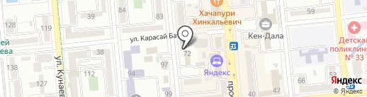 Совет ветеранов Медеуского района на карте Алматы
