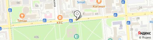Голландский цветочник на карте Алматы