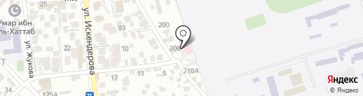 Медикер на карте Алматы