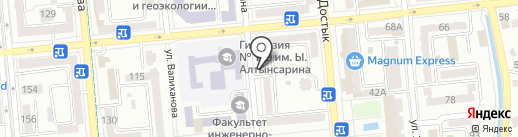 А плюс на карте Алматы