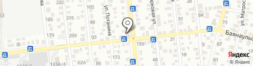 Стекляшка на карте Алматы
