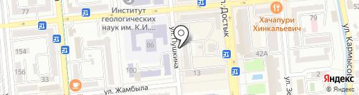 Professional Travel Service на карте Алматы