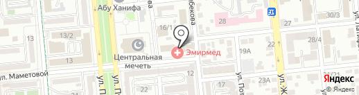 Удачный день на карте Алматы