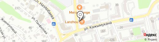 Beauty Lab на карте Алматы