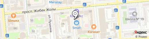 Alena на карте Алматы