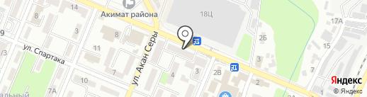 Cristal Ломбард, ТОО на карте Алматы