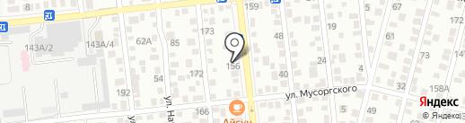Maxim Colors на карте Алматы