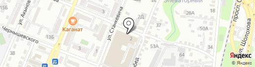 Запах на карте Алматы