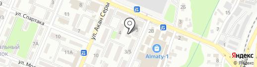 Бирюза, ТОО на карте Алматы