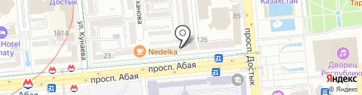 Eleventh на карте Алматы