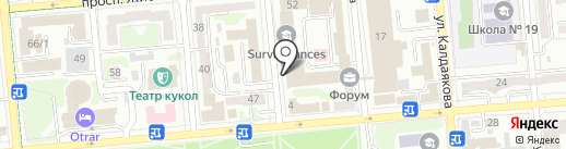 Мир Белья на карте Алматы