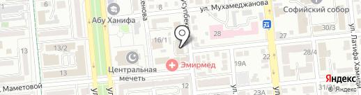 Правник, ТОО на карте Алматы