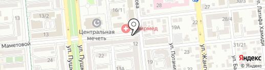Nurhan на карте Алматы