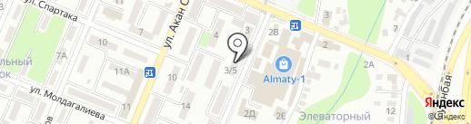 Искер, ТОО на карте Алматы