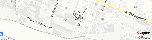 КазЭлектроПривод на карте Алматы