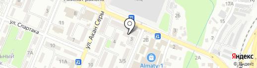 1КРЕДИТ, ТОО на карте Алматы