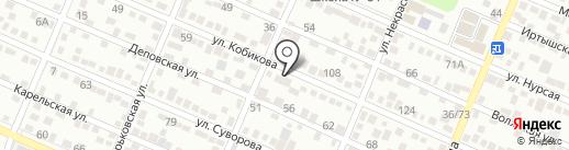 Вояж VIP на карте Алматы
