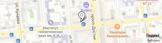 Barbershop TOPGUN Almaty на карте Алматы