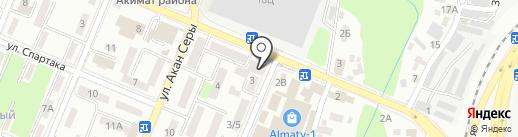 Бiрiншi Ломбард на карте Алматы