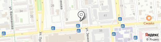 Flagman Cars на карте Алматы