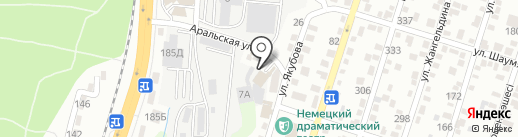 Garage M на карте Алматы