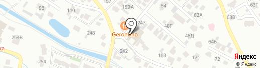Алматы-Сапар на карте Алматы