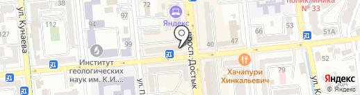 DAR на карте Алматы