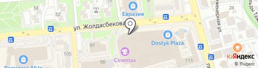 MANGO на карте Алматы
