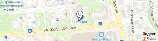 Шахматная школа Флюры Хасановой на карте Алматы