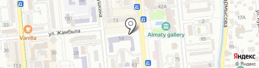 Федерация шинкиокушинкай каратэ им. Б. Кабулова на карте Алматы