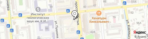 Апифитофарм на карте Алматы