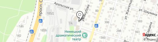 Дачник, продовольственный магазин на карте Алматы