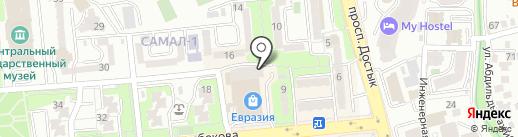 Козырный Той на карте Алматы