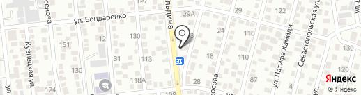 У Михайловича на карте Алматы