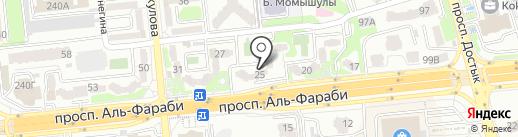 Kilem Market на карте Алматы
