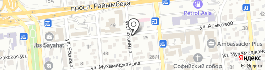 Аптека №28 на карте Алматы