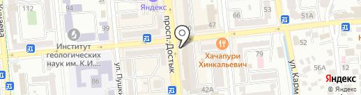 BuLavka на карте Алматы
