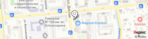 D.O.M. на карте Алматы