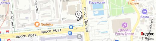 Акпараттык-технологиялык орталык, ТОО на карте Алматы