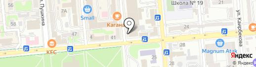 Nail Room на карте Алматы