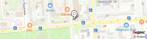 Исет Казахстан, ТОО на карте Алматы