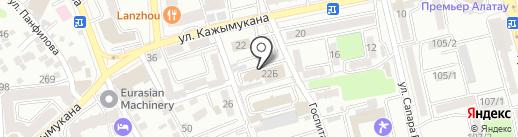 Служба государственной охраны Республики Казахстан №0111 на карте Алматы
