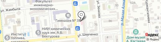 Банк ВТБ (Казахстан), ДО АО на карте Алматы