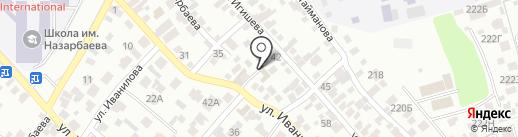 Сапалы аударма на карте Алматы