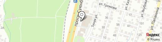 ЛУКОЙЛ на карте Алматы