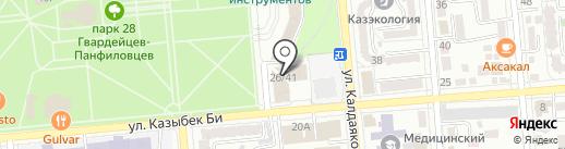 Всемирный банк на карте Алматы